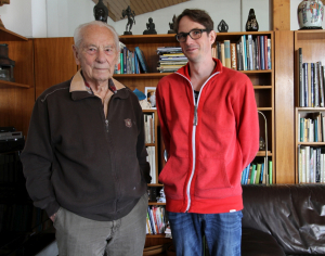 Kurt Hirschel mit Sebastian Postl