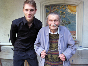 Prof. Kurt Schaefer und Oliver Bruck